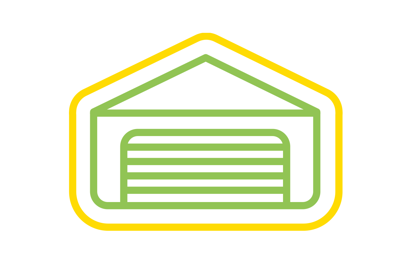 UK customs approved bonded warehouse icon