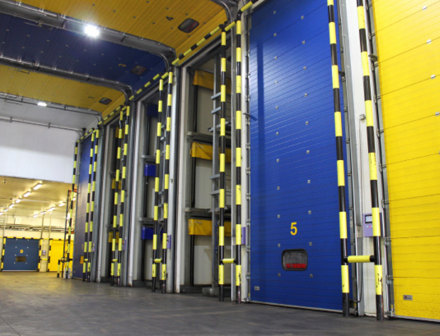 Tropifruit has 13 ripening rooms with a total ripening capacity of 332 pallets